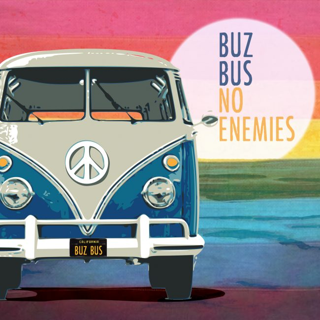 Buz Bus Album Cover No Enemies